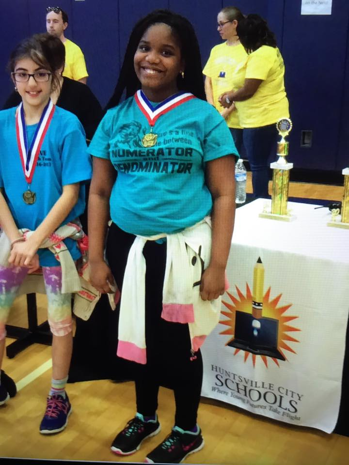 Alexis Stoudemire at the Math Competition