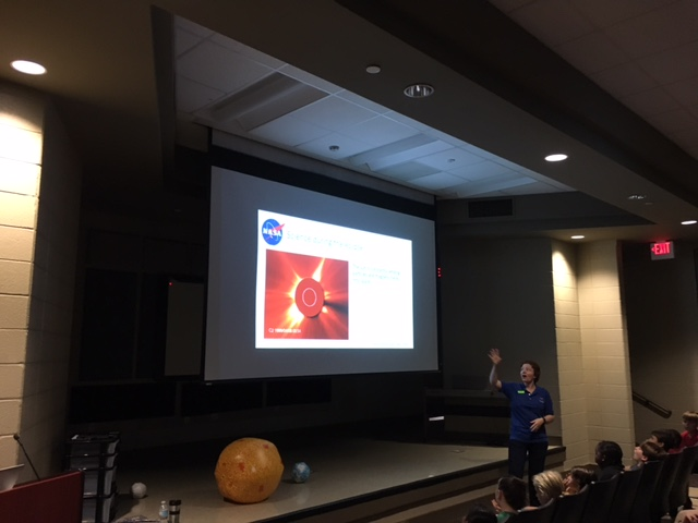 Dr. Winebarger explains what happens during a solar eclipse.