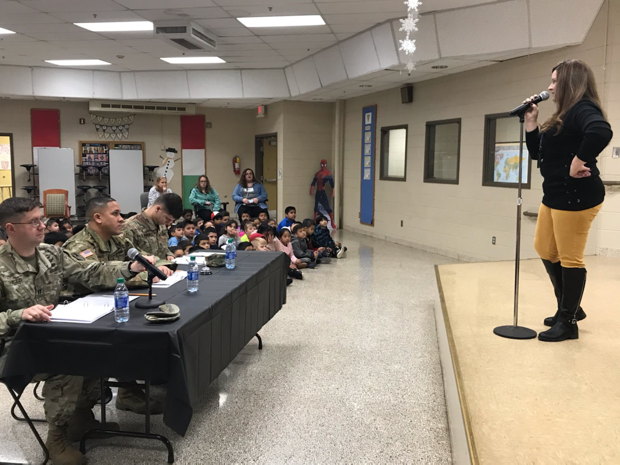 Spelling Bee at McDonnell Elementary