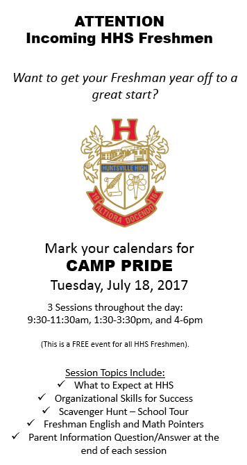 Panther Pride Camp
