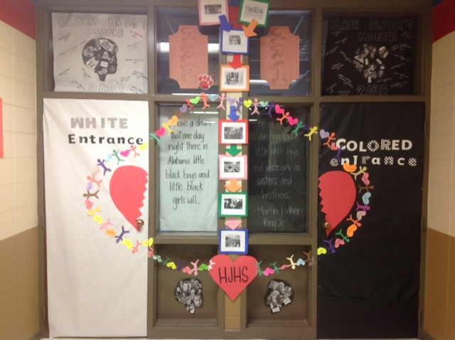 Black History Month Door Decorating Contest Huntsville Junior High