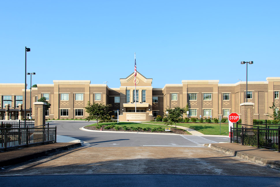 Blossomwood Elementary School Entrance