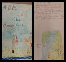 ABC of the American Revolution Cover and text created by student