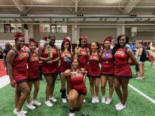 Columbia High School Cheerleaders at Summer Camp