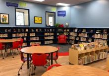 Picture of the newly remodeled Montview Library Center