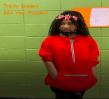 Picture of 5th grade student, Trinity, who is the 2020-2021 Montview Student Government Association vice president