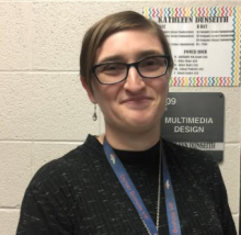 New teacher, Kathleen Dunseith