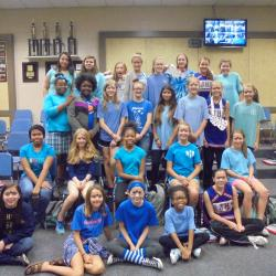 Spirit Week - Blue Day