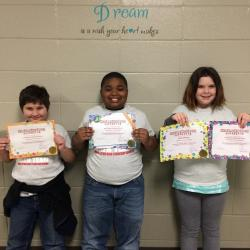 Photo of Math Competition Winners