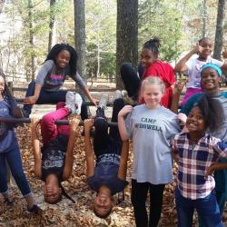 Students at Camp McDowell