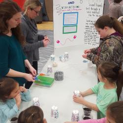 Sounds and vibrations with Ms. Barnes and Mrs. Handley