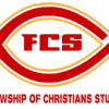 View red and yellow oval with FCS centered
