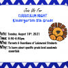 Read Lakewood's First Annual Curriculum Night