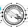 This is an image of the CyberPatriot 10 Logo.