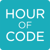 Logo for the Hour of Code