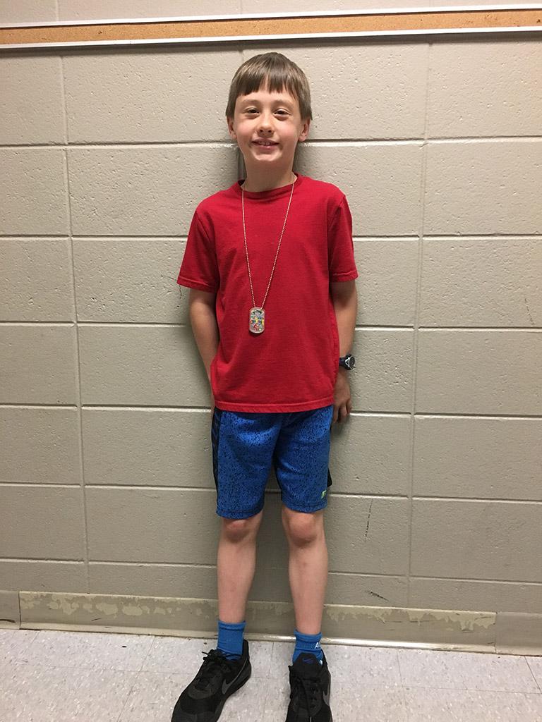 ASFL 3rd Grade Individual Winner Nathan Madsen