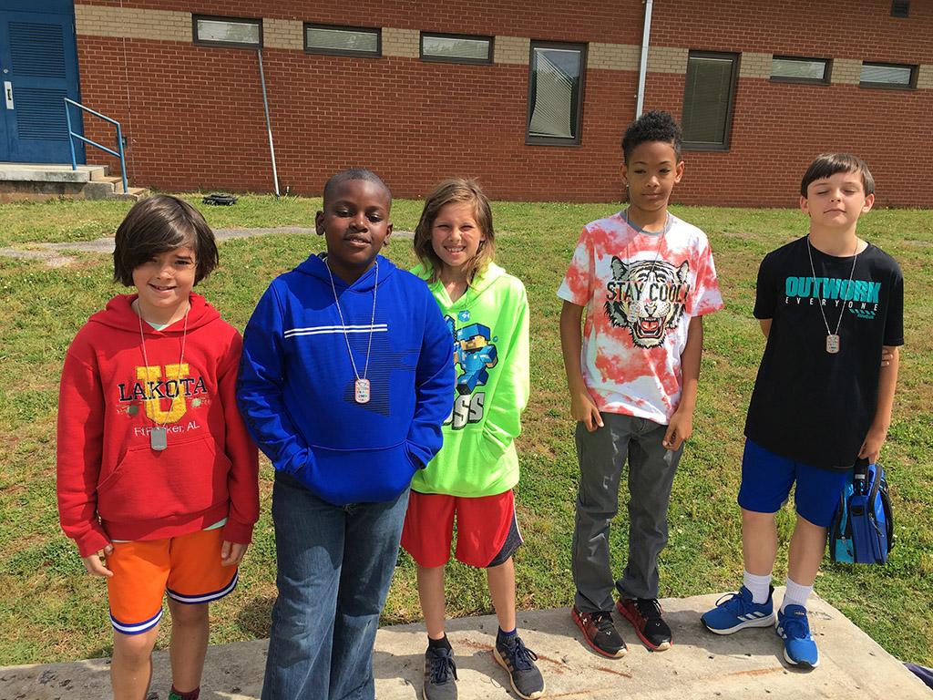 ASFL 4th Grade 2nd Place Team Winners