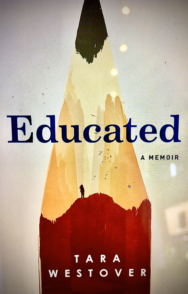 Cover of Educated, by Tara Westover