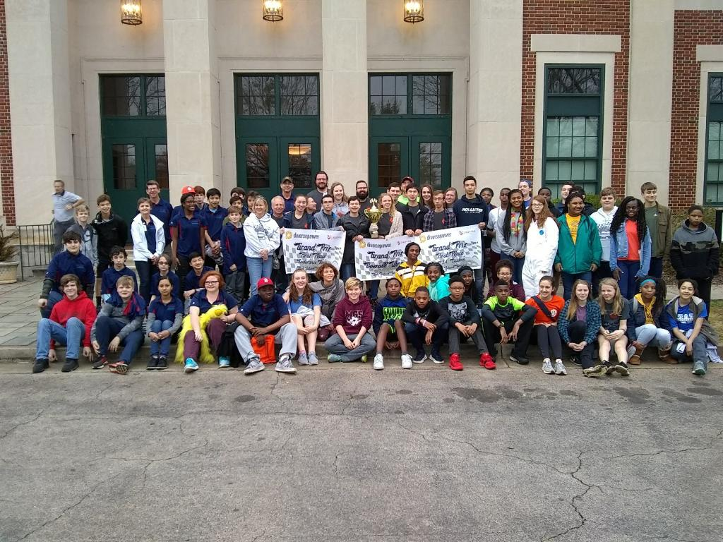 Greenpower Students from Across the Southeast at the Diverse Power Gran Prix