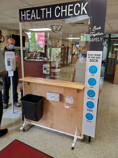 School Health Check Station
