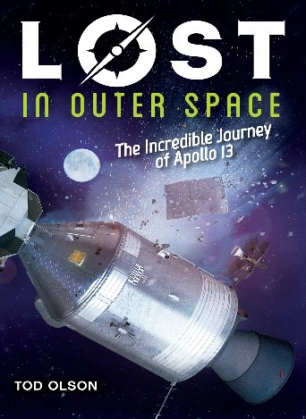 Lost in Outer Space (Lost #2) by Todd Olson book cover