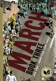 March Book Three by John Lewis book cover