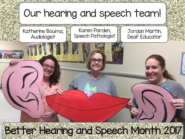 Speech & Hearing Staff
