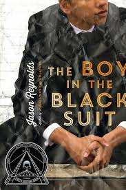 The Boy in the Black Suit by Jason Reynolds book cover