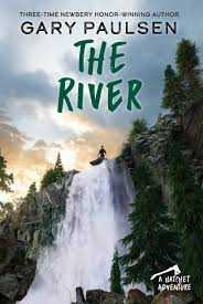 The River by Gary Paulsen book cover