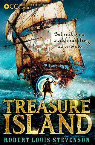 Cover of Treasure Island, by Robert Louis Stevenson