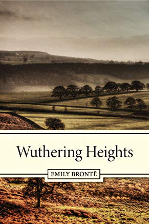 Wuthering Heights by  Emily Brontë book cover