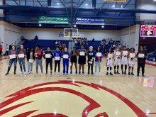 8th grade all-city girls basketball champions