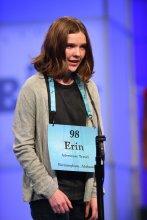 Erin Howard at Scripps National Spelling Bee 2018