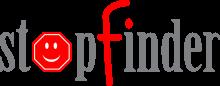 Stopfinder bus tracker app logo
