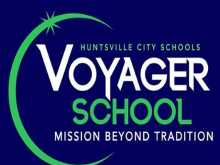 Huntsville City Schools Voyager Logo - Mission Beyond Tradition
