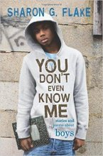 You Don't Even Know Me by Sharon Flake book cover