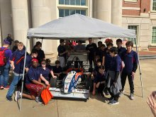 Challenger Greenpower Team Visiting Auburn University
