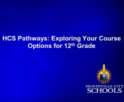 Watch 12th Grade: Exploring Your Course Options