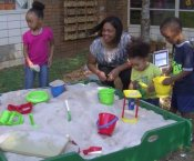 Watch Pre-K Outdoor Classroom Unveiled at Dawson...