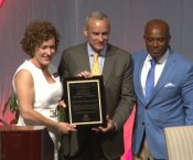Dr. Wadrynski Receives Award from Boys & Girls Club