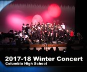 Watch Columbia High Winter Concert 2017