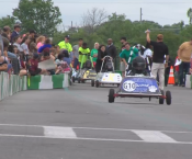 Students race goblin cars at Whitesburg Invitational 2017