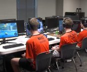 Grissom Students Participating in Esports Tournament