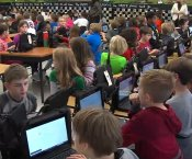 Students Participate in Hour of Code