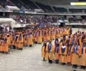 Stylized image of Jemison Graduation