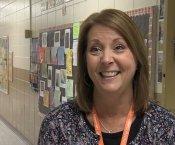 Ms. Lori Nelson speaking to ETV