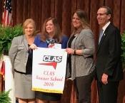 Morris Elementary Receives CLAS Award