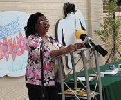 Ms. Jackson Speaks at Sonnie Hereford
