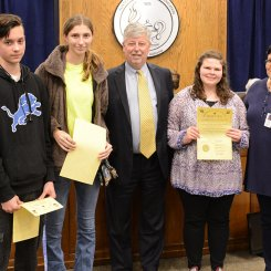 HHS & GHS culinary students recognized for placing in the Pro Star Culinary Competition
