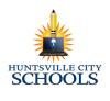 Huntsville City Schools Pencil & Laptop Logo